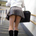 JK階段ローアングルパンチラ