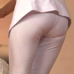 ナースや看護士さんのパンツ透け画像